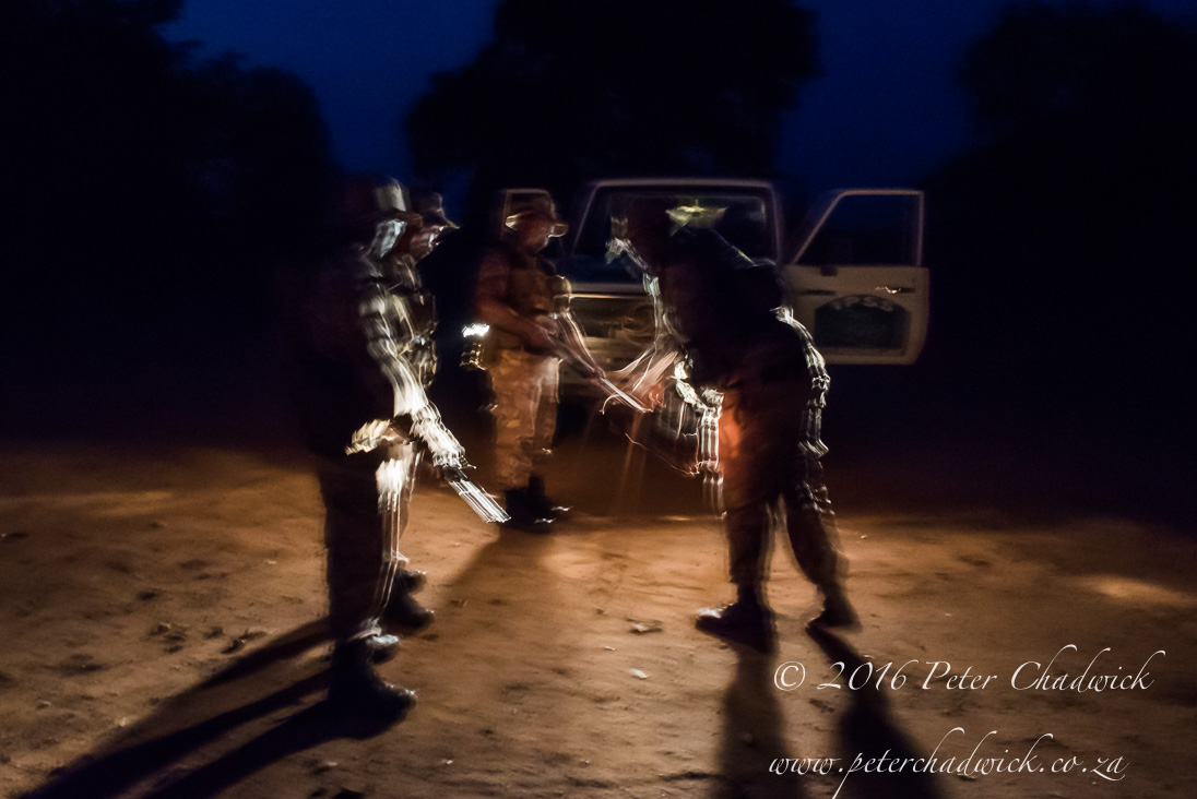 Planning an Anti poaching Patrol_©PeterChadwick_AfricanConservationPhotographer