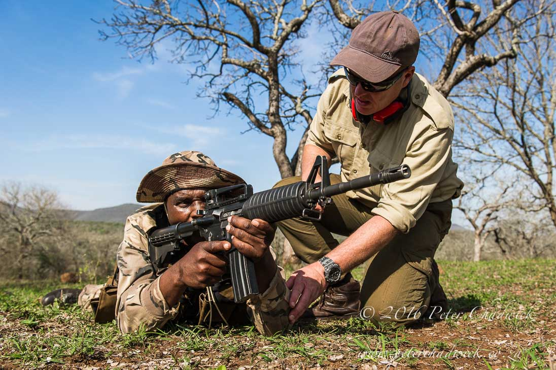 Ranger Mentoring and Training_©PeterChadwick_AfricanConservationPhotographer